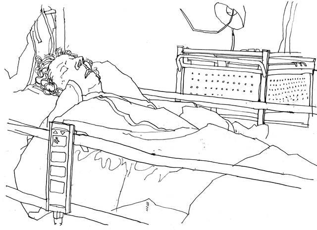 Mum in Hospital