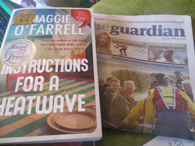 Amazing Maggie O'Farrell'Instructions for a Heatwave'I am Reading Now.