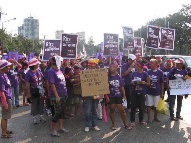 Survivors of Haiyan cyclone join 1Billion Rising