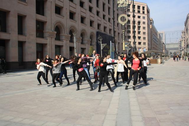 Dance Flashmob in Yerevan, Armenia