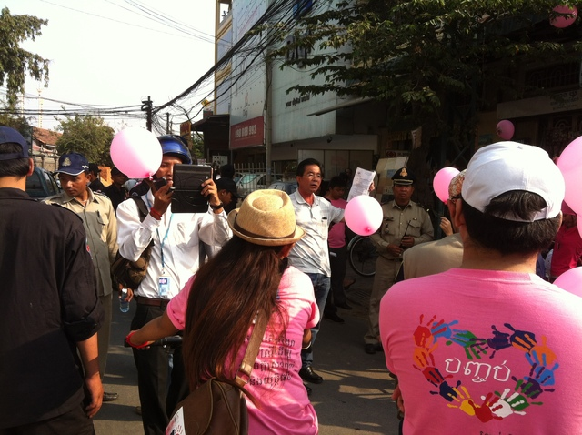 Cambodia One Billion Rising bike ride stopped by authorities