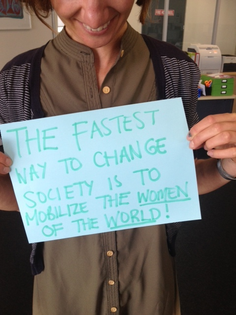 Mobilize more women to change the world!
