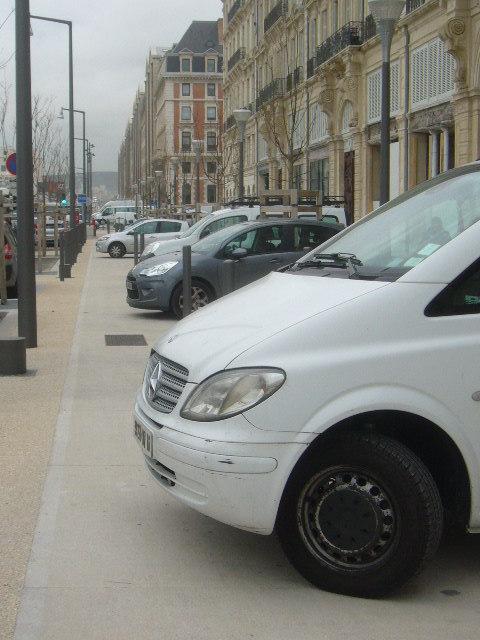 Carpark? No, bicycle path