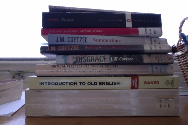 I might have an essay on JM Coetzee...