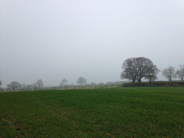 A very smoggy Derbyshire !!