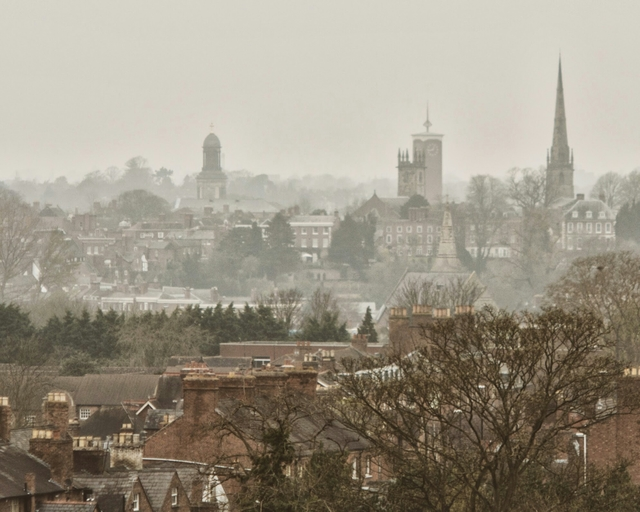 Smog over Shrewsbury