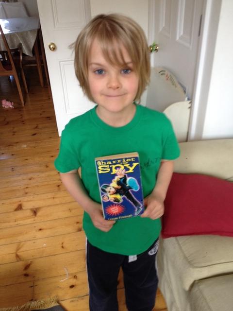 Ben (aged 7) likes Harriet the Spy.