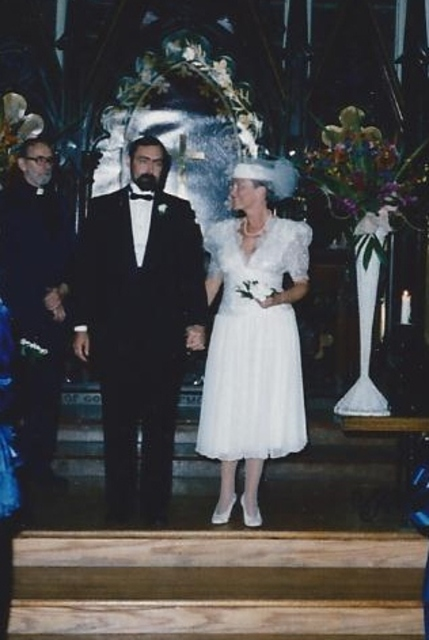 Our wedding 1987