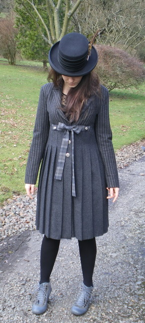 Upcycled Wool Frockcoat