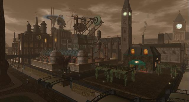 New Babbage: Steampunk City