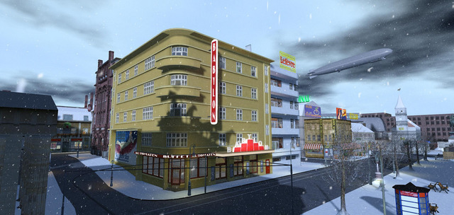 1920s Berlin Project community in Second Life