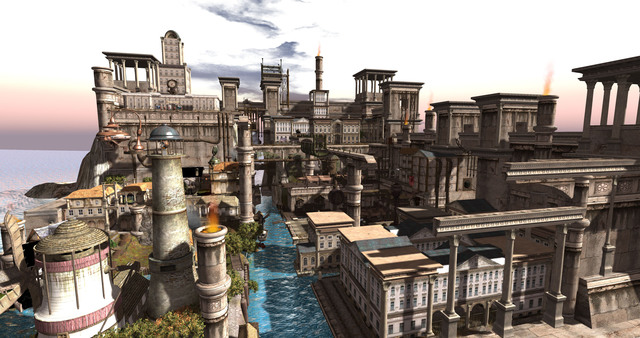 Forgotten City in Second Life, Role Play Community