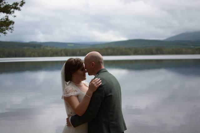 Delightful lochside wedding in the Cairngorms National Park June 2014