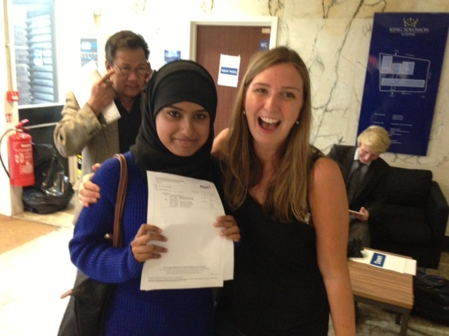 ARK's King Solomon Academy post first ever GCSE results 93% get 5 A*-C