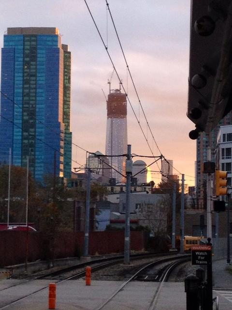 Hudson Light Rail view