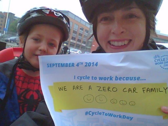 Every day is cycle to work day!