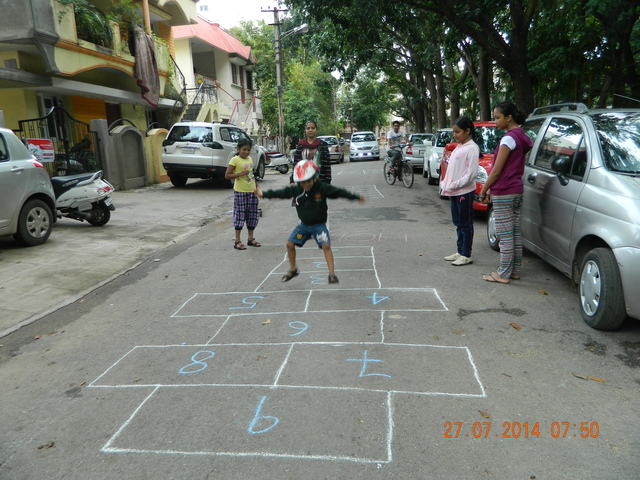 Hopscotch most popular among all