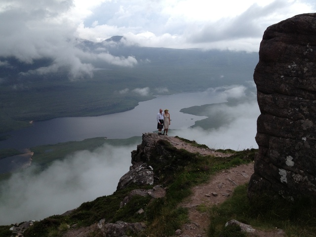 Stac Pollaidh: an iconic Highland hill for a fabulous outdoor wedding!