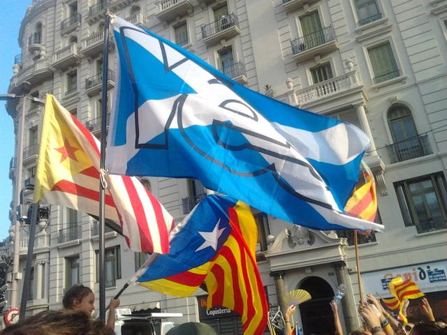 Catalan-Scottish solidarity