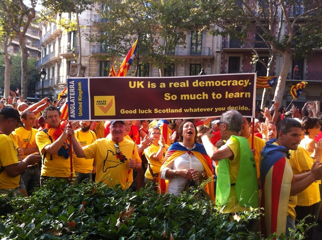 Catalan message to the world
