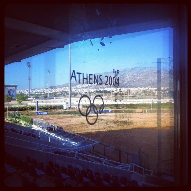 The Athens Olympics Softball Stadium