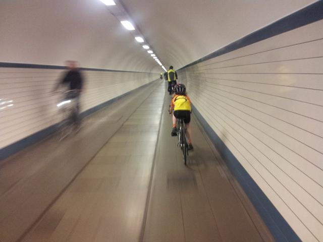 Sint Anna Tunnel, Antwerp