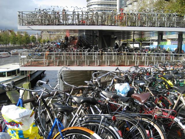 Parking lot Amsterdam