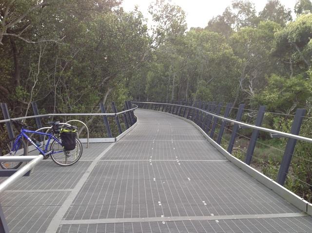 Parramatta River shared boardwalk