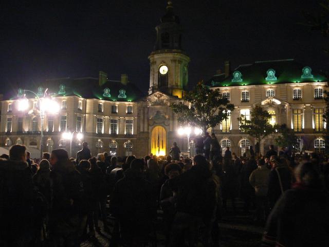 Vigil in Rennes