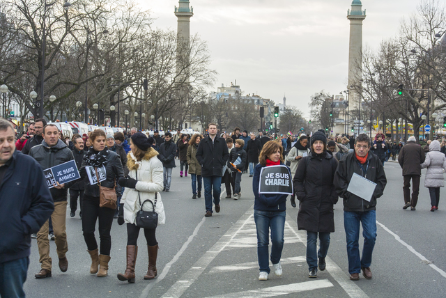 National March Against Terrorism and National Unity, Paris