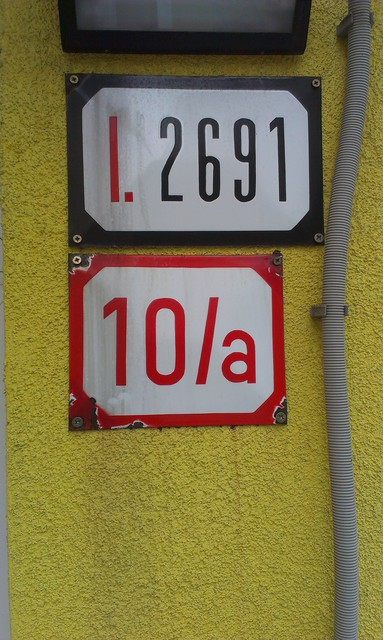 Street signs in Bratislava