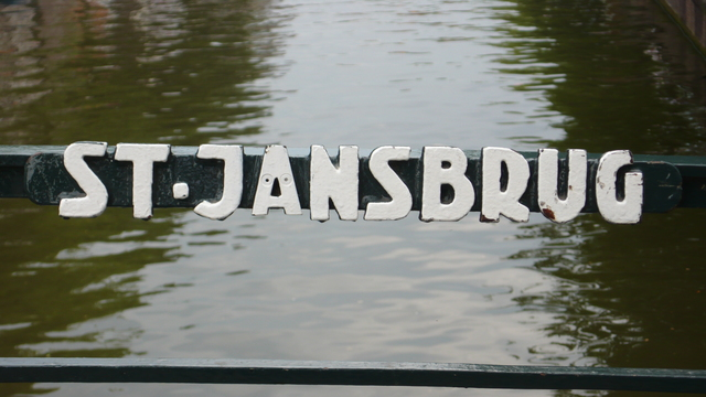 Bridge names Amsterdam