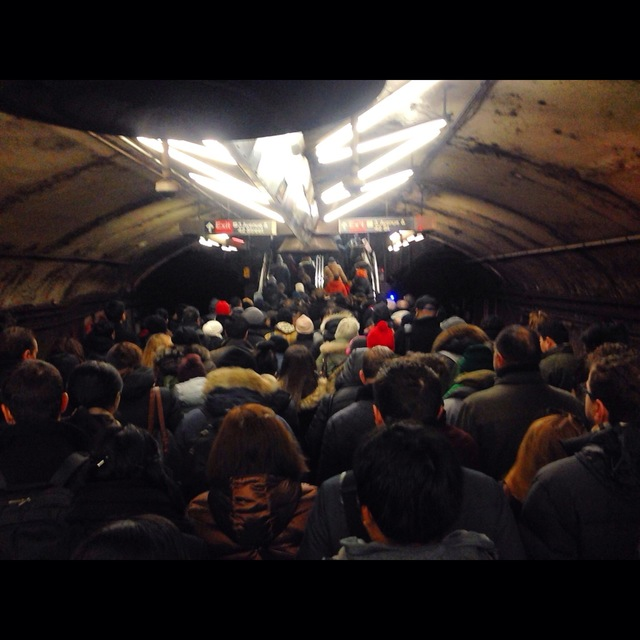 New York Subway - Peak Hour