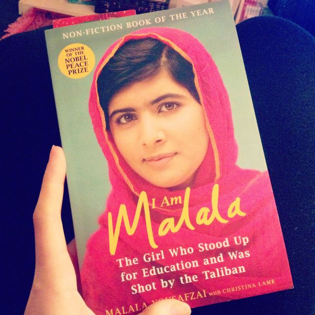 I Am Malala - campaigner for girl's education
