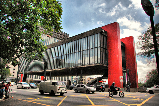 MASP The Art Museum of Sao paulo by Lina Bo Bardi