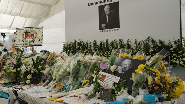 Community tribute sites in Tampines town