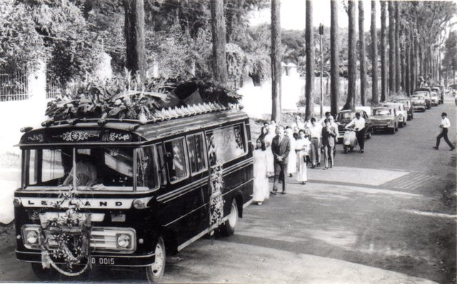 My grandfather's funeral, Ho Chi Minh City, 1968