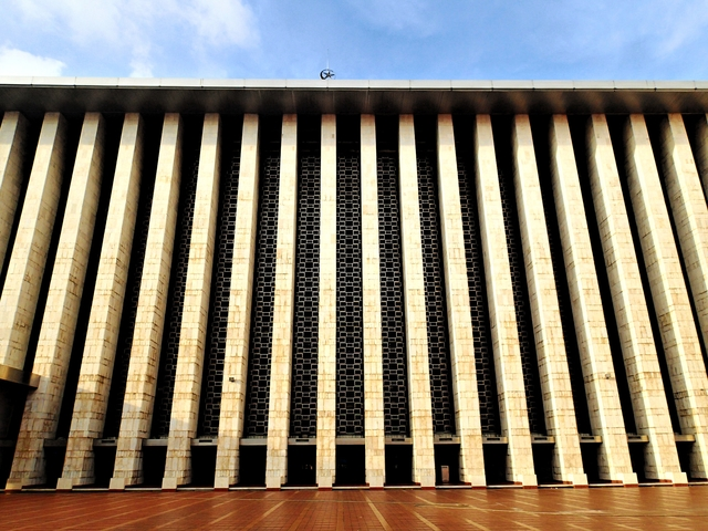 Istiqlal Mosque, a symbol of religious harmony and tolerance