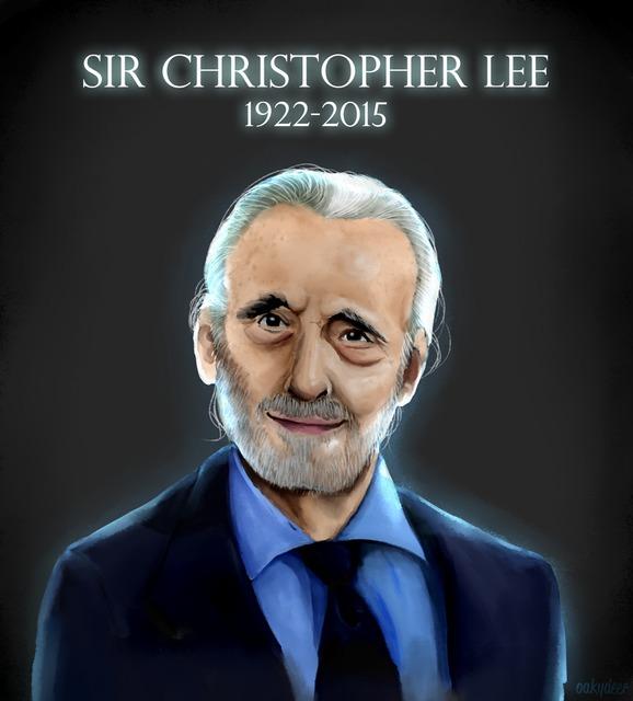 In Honor Of Sir Christopher Lee
