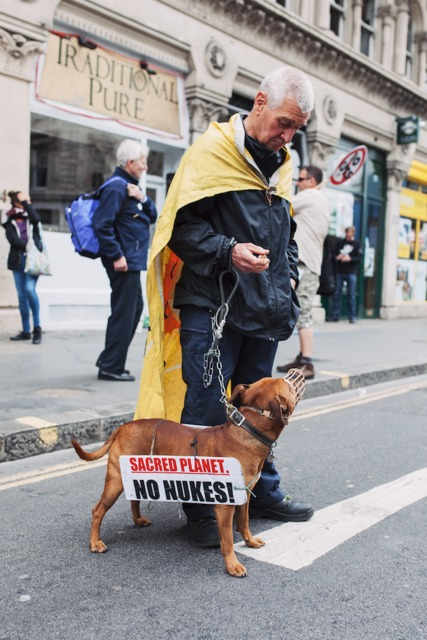 Seen at the Anti Austerity Demonstration in London today.