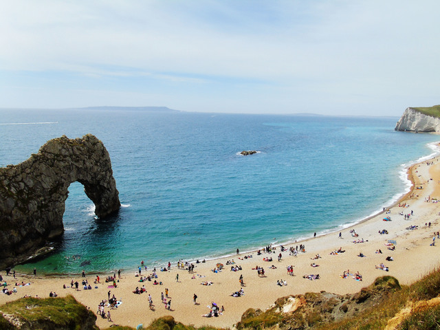 View of Durdle Door, Jurassic Coast