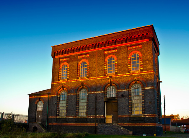 Sandfields Pumping Station, Lichfield is a Grade II* listed redundant Victorian waterworks that still contains its original unique 190 hp Cornish beam engine.
