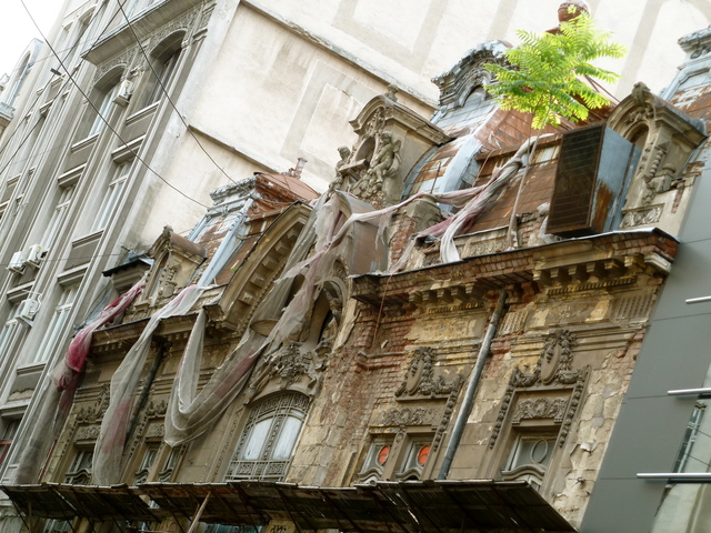 Seen better days in Bucharest
