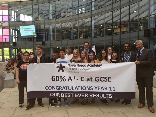 NOVA HREOD CELEBRATES GCSE SUCCESS