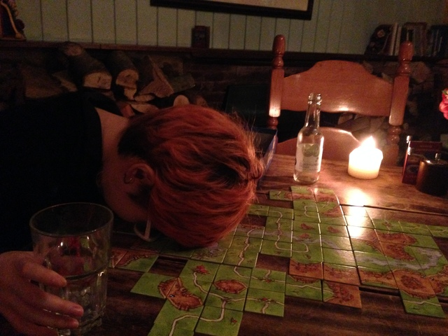 Carcassonne is such fun, as you can see