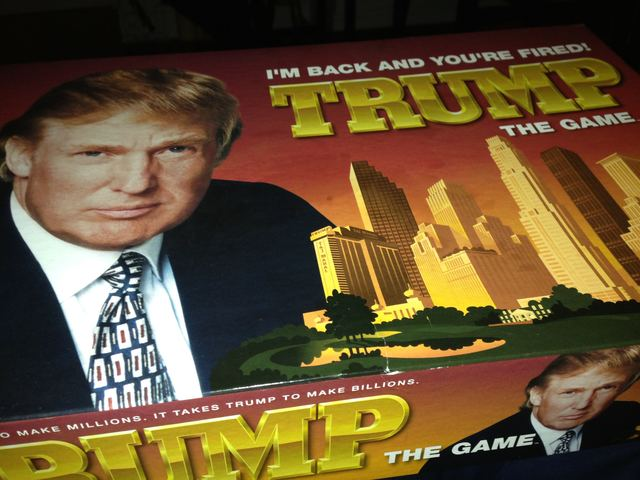 Trump. The game.