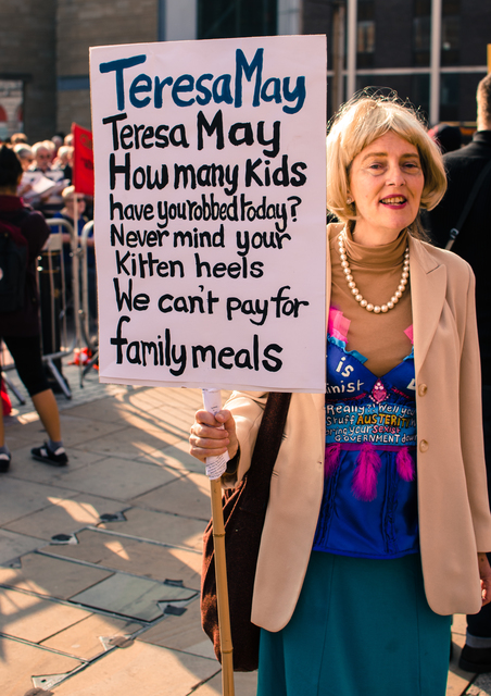 Teresa May Surprise Appearance