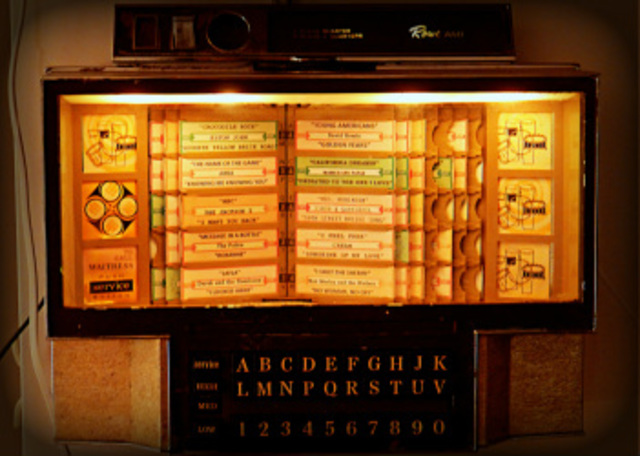 Connecting an old jukebox to a home media system