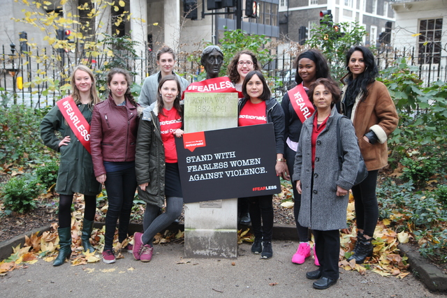 ActionAid is celebrating Virginia Woolf