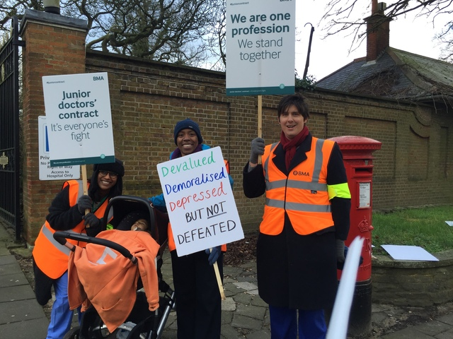 Junior doctors in Stanmore